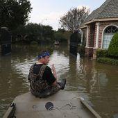 Irma stürmt  Harvey nach
