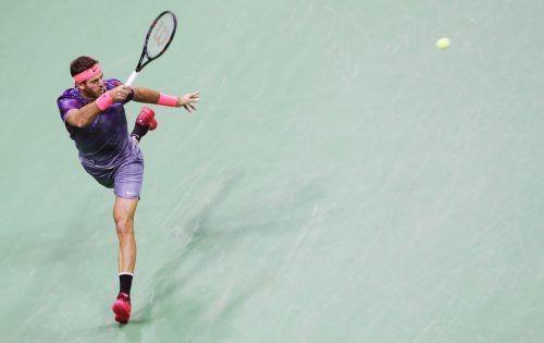 Thiem-Bezwinger Juan Martin del Potro (Bild) besiegte auch Federer.gepa