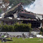 Einfamilienhaus in Hollabrunn bei Explosion zerstört