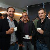 Stadtfrühstück im Innovationszentrum mit viel Small talk und Networking