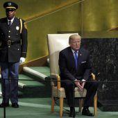 Trump zieht bei Nordkorea Daumenschrauben an