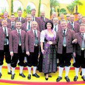Ernst Hutter und die Egerländer Musikanten auf Tournee