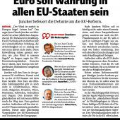 Euro für alle EU-Staaten