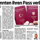 Schon drei Staatsbürgerschaften werden aberkannt
