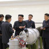 Nordkorea zündete Wasserstoffbombe