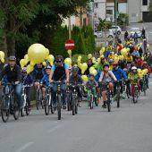 Fahrradparade im Großraum Bludenz