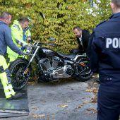 Großeinsatz gegen Rocker in Nordrhein-Westfalen