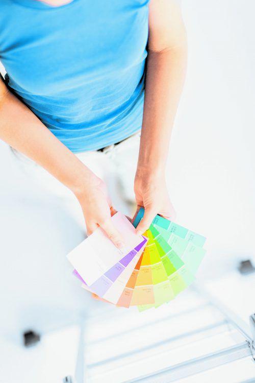"""Als """"übliche"""" Farben gelten neben Weiß mittlerweile auch sanfte Pastelltöne."""