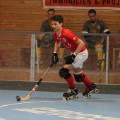 Erster Auftritt in Hockeyarena