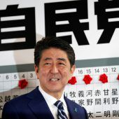 Erdrutschsieg in Japan