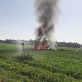 Pilot stirbt bei Eurofighter-Absturz