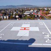 Dornbirner Spital bereitfür ersten Landeanflug