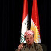 Barzani verkündet Rücktritt