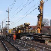 Land investiert kräftig in Bahnstreckenausbau