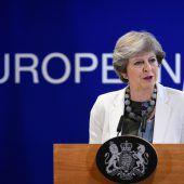 EU fordert von May klare Ansage zu Finanzen