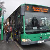 Gute Noten für Bludenzer Stadtbus