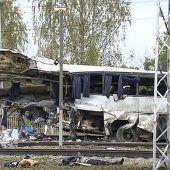 Mindestens 16 Tote nach Zugunglück nahe Moskau