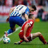 Hertha verschärft Bayern-Krise