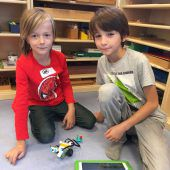 An Volksschulen sind die Roboter los