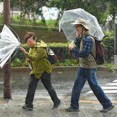 Zwei Tote bei Taifun in Japan