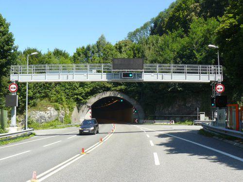 Der Citytunnel in Bregenz wird heute Nacht gesperrt.