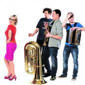 Musik und Pointen: Sitzfleisch