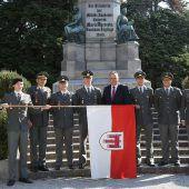 Vier neue Milizoffiziere für das Bundesheer in Vorarlberg