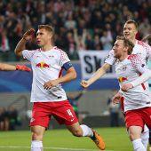 Fußball furios: Leipzig feiert den ersten Sieg in der Champions League C1