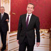Kanzler in der Hofburg
