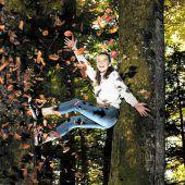 Spaß im Blätterwald