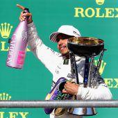 Lewis Hamilton gewinnt in Austin. Auf den WM-Titel fehlen fünf Punkte. C1