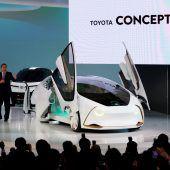 Japanische Hersteller zeigen auf der Tokyo Motor Show die Mobilität der Zukunft F1–3