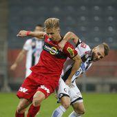 ÖFB-Cup-Aus für Altach Rheindörfler verlieren bei Sturm Graz klar mit 1:4 C1