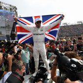 Lewis Hamilton krönte sich in Mexiko zum Formel-1-Weltmeister C1