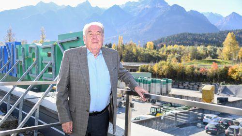 Herbert Zech sen. hat im Alter von 83 Jahren die Geschäftsführung abgegeben. vn