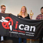 Kampf für Welt ohne Atomwaffen