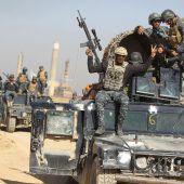 Irakische Armee rückt gegen die Kurden in Kirkuk vor