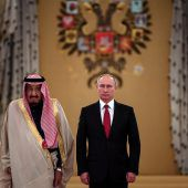 Saudi-König trifft Putin in Moskau