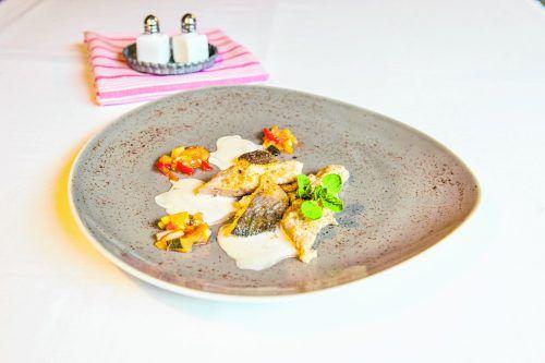 Köstliches aus der Ländle-Küche: Vorarlberger Riebelgrieß mit Ramschwagsaibling.oliver lerch