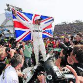 Lewis Hamilton holte mit einer Spazierfahrt den vierten Titel