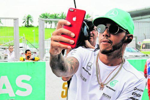 Lewis Hamilton nimmt weitere Formel-1-Rekorde ins Visier. gepa