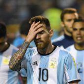 Argentinien droht WM-Aus