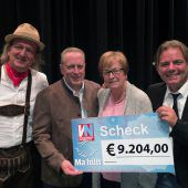 Musikshow, Spaß und 9204 Euro für Ma hilft