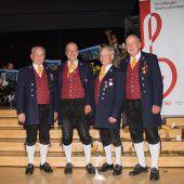 Engagiertes Quartett der Bürgermusik