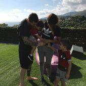Familie Messi im Glück
