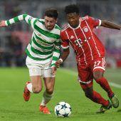 Souveräne Bayern: 3:0-Sieg gegen Celtic Glasgow in der Champions League C2