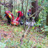 Für Notfälle im alpinen Gelände gerüstet