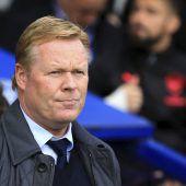Everton entlässtCheftrainer Koeman