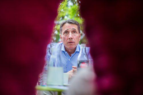 """Reinhard Bösch: """"Müssen Kernfragen abklären.""""VN/Steurer"""