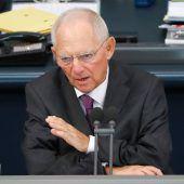 Ex-Finanzminister Schäuble ist nun Bundestagspräsident